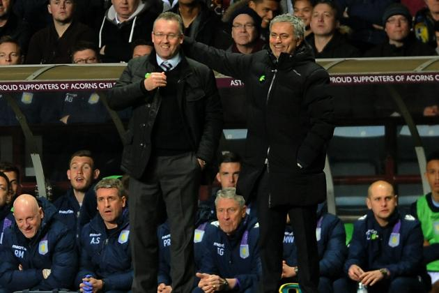 Paul Lambert and Jose Mourinho Post-Match Reaction from Aston Villa vs. Chelsea