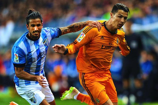 Malaga vs. Real Madrid: La Liga Score, Grades and Post-Match Reaction