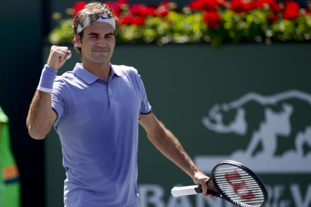 Roger Federer vs. Alexandr Dolgopolov: Score and Recap from 2014 Indian Wells
