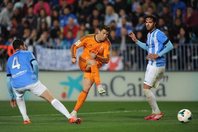 Analysing Cristiano Ronaldo's Performance from Malaga vs. Real Madrid