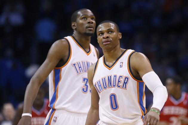 OKC Thunder Will Be Periodically Resting Russell Westbrook Down the Stretch