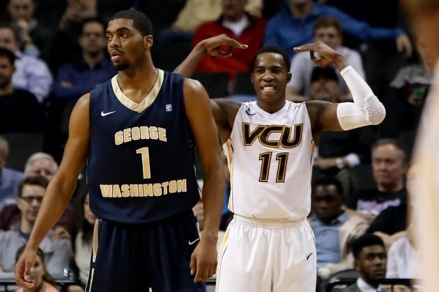 Atlantic 10 Tournament: VCU Beats George Washington, but Injuries Are Story