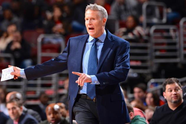 Sixers Coach Brett Brown Says Any Philadelphia Win Is an Upset