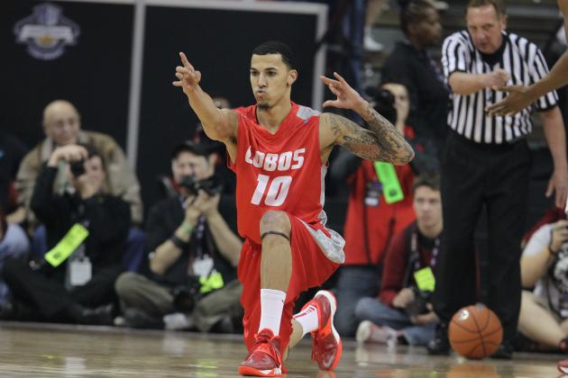New Mexico vs. San Diego State: Score, Grades, Analysis from MWC Tournament 2014