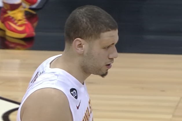 Iowa State Fans Wear Band-Aids Above Eyes in Support of Georges Niang's Injury