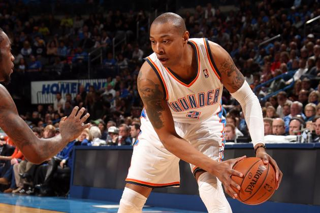Grading Caron Butler's Performance with the OKC Thunder so Far