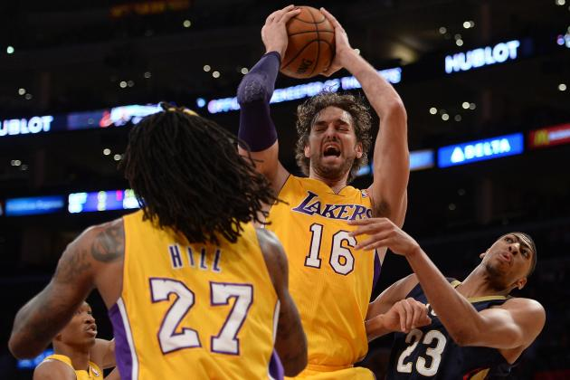 Los Angeles Lakers Have Big Frontcourt Holes to Fill Next Season