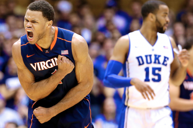ACC Tournament 2014: TV Schedule, Live Stream, Predictions for Virginia vs. Duke