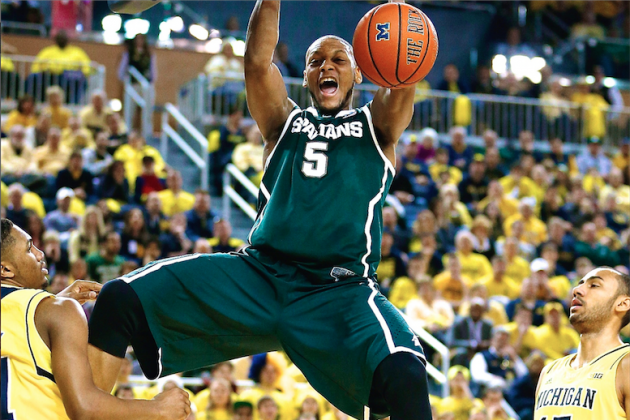 Big Ten Tournament 2014: Viewing Info, Prediction for Michigan vs Michigan State