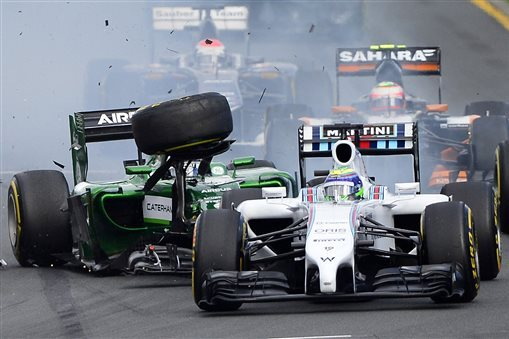 Was Felipe Massa Fair to Call for Kamui Kobayashi Ban After Australian GP Crash?