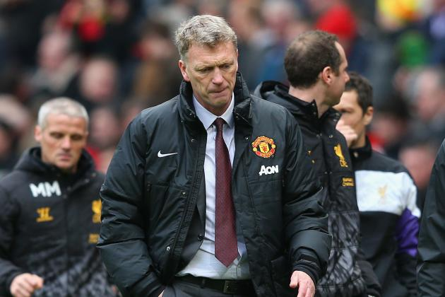 David Moyes, Look Away: Twitter Reacts to Manchester United's Loss to Liverpool