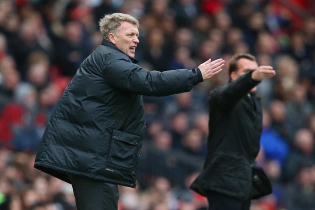 David Moyes and Brendan Rodgers Reaction from Manchester United vs. Liverpool