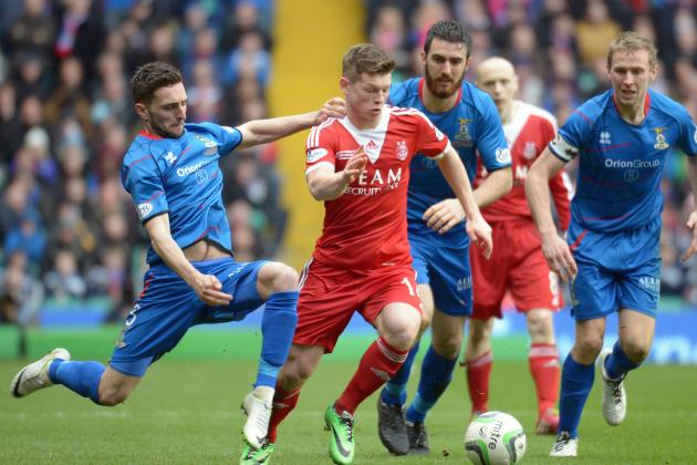 Scottish League Cup Final 2014: Score and Recap from Aberdeen vs. Inverness CT