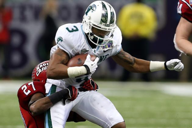 Ryan Grant NFL Draft 2014: Highlights, Scouting Report for Redskins WR