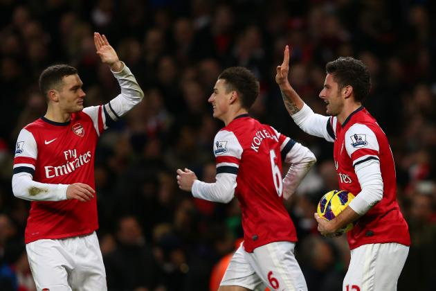 Arsenal Transfer Rumours: Latest on Olivier Giroud, Thomas Vermaelen and More