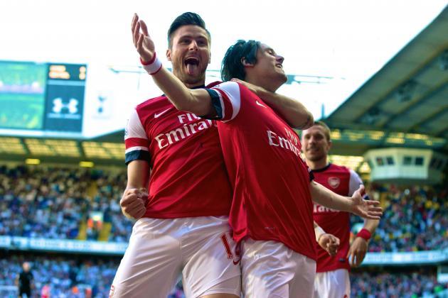 Tottenham Hotspur vs. Arsenal: Score, Grades and Post-Match Reaction