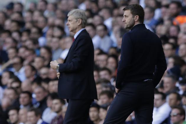 Tim Sherwood and Arsene Wenger Post-Match Reaction from Tottenham vs. Arsenal