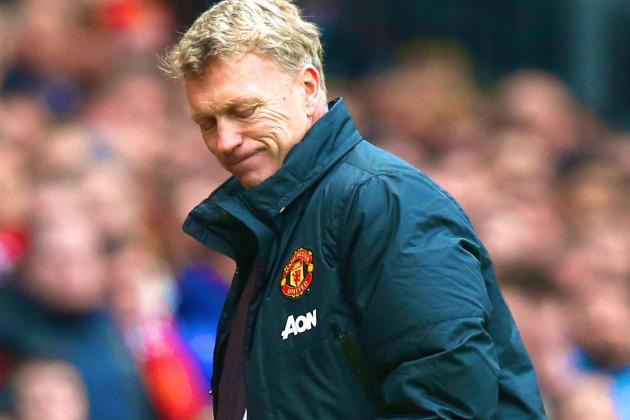 David Moyes Is Battling to Save His Job at Manchester United