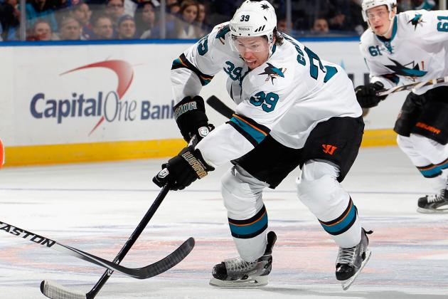 Video: Logan Couture Scores Short-Handed While Falling into Splits