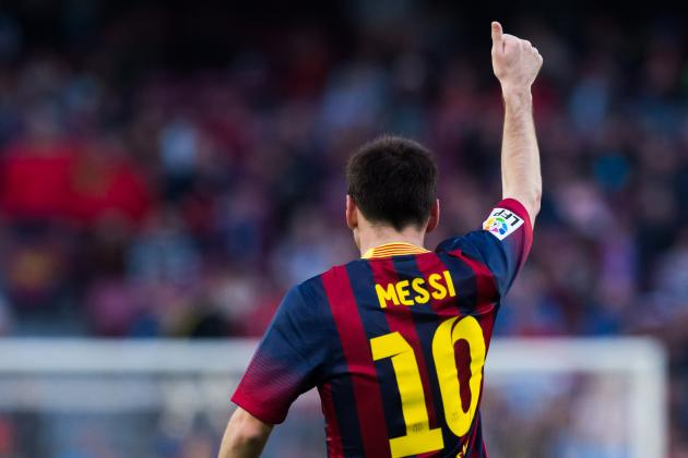 Messi: 'As Long as People Want Me To, I'll Stay at Barcelona'