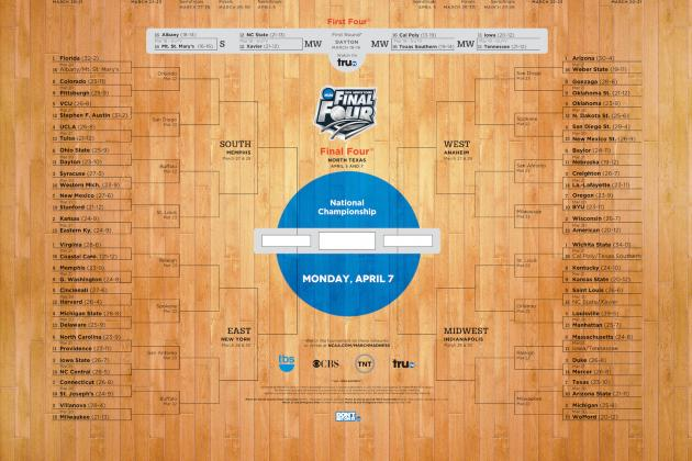 NCAA Bracket 2014: Live Reaction to Selection Sunday Results