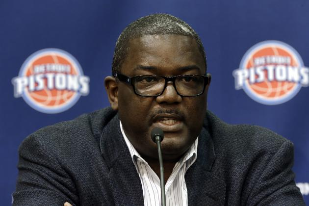 Report: Joe Dumars Expected to Resign from Pistons GM Post After 14 Seasons