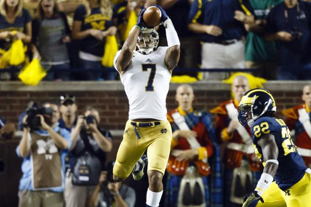 T.J. Jones NFL Draft 2014: Highlights, Scouting Report for Detroit Lions WR