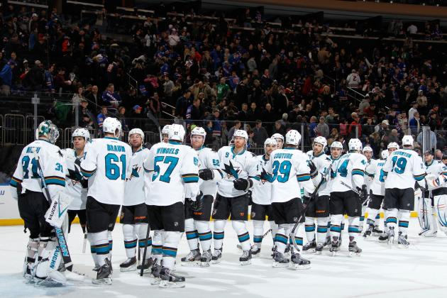 San Jose Sharks Coming Together at Perfect Time