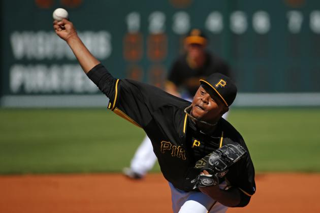 Despite Ugly Spring, Edinson Volquez Likely to Wind Up in the Pirates' Rotation