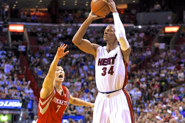 Ray Allen Jump-Starts Miami Heat Reboot with Clutch 4th-Quarter Performance