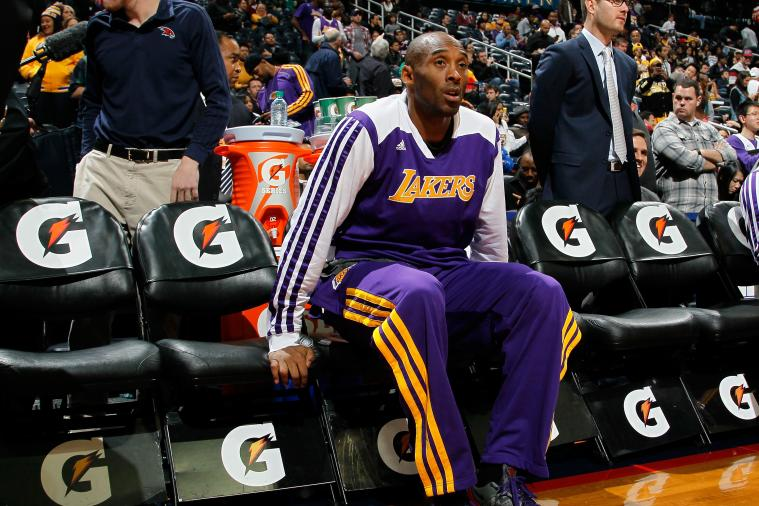 Shutting Down Kobe Bryant for Rest of Season Will Be Blessing in Disguise