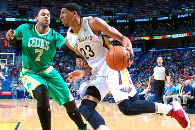 Anthony Davis Posts Franchise's 1st 40/20 Game as Pelicans Beat Boston in OT