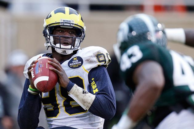 Michigan Football: Ranking the Hardest Games of the 2014 Schedule