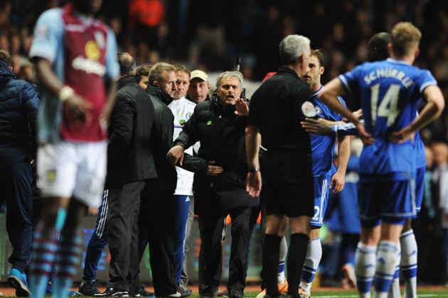 Chris Foy's Key Stats: Jose Mourinho Calls on FA to Ban Ref from Chelsea Games