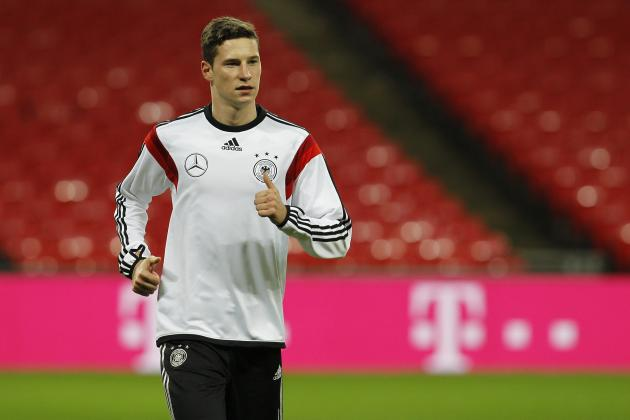 Manchester United Transfer News: Julian Draxler More Suited to Arsenal Style