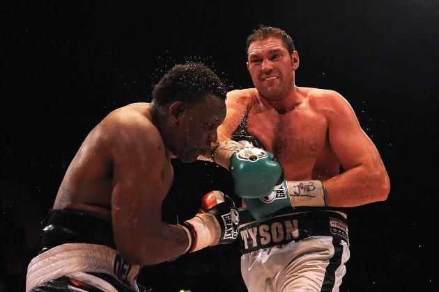 Dereck Chisora vs. Tyson Fury Fight Confirmed for July 26 in Manchester