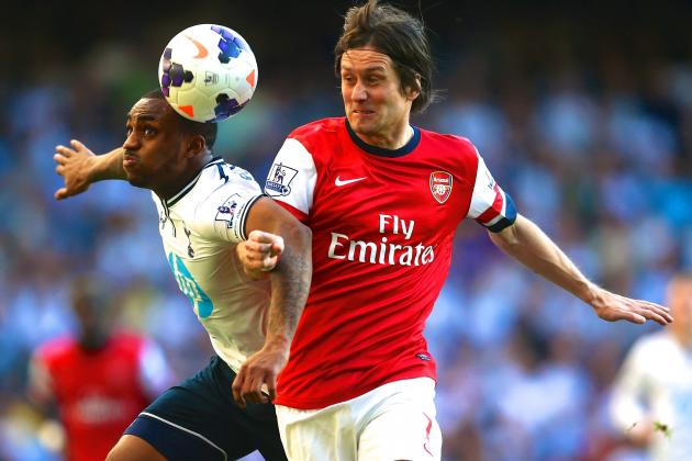 Tomas Rosicky Is Becoming Arsenal's Derby Hero
