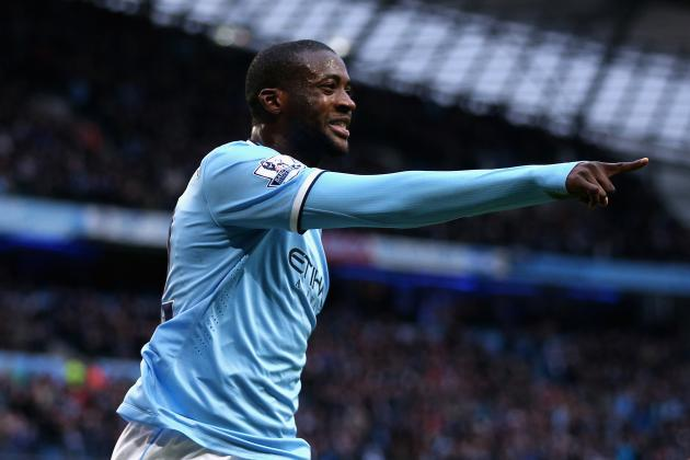 How Much Is Manchester City Midfielder Yaya Toure Worth Based on Form in 2014?