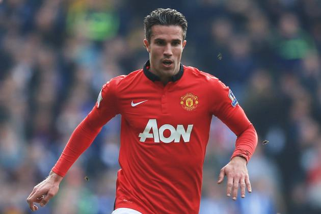 Robin Van Persie's Son Reportedly Training with Manchester City, Not United