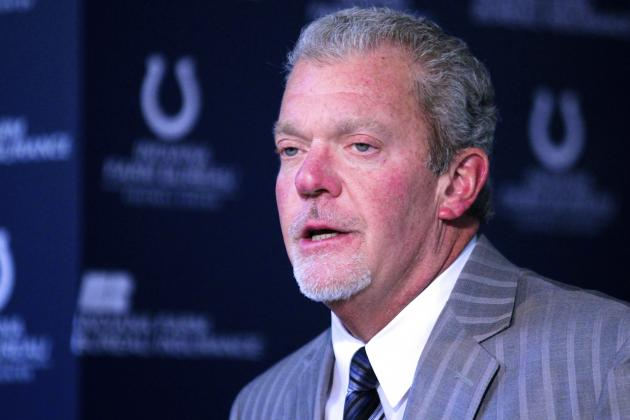 Latest Details on Colts Owner Jim Irsay's March Driving Arrest