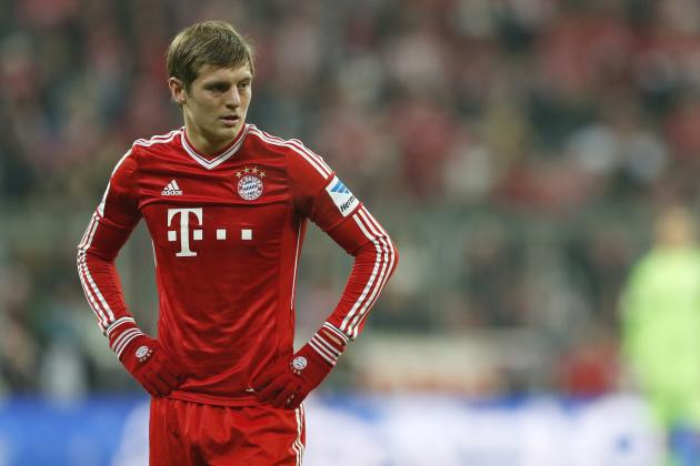 Imagining a Manchester United Team with Bayern Munich's Toni Kroos in Midfield