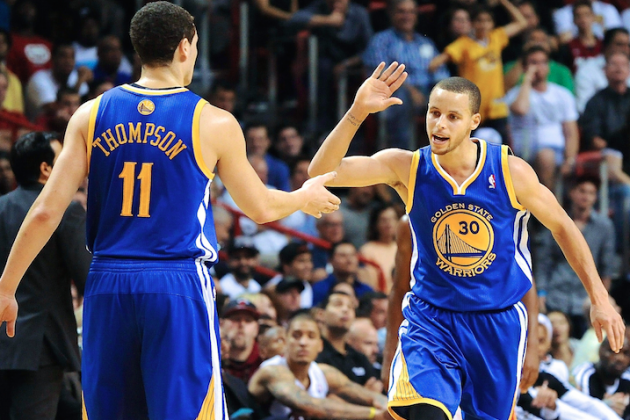 Splash Brothers' 2nd-Half Domination in Portland Proves Warriors' Lethal Prowess