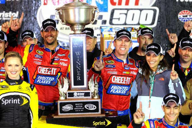 NASCAR at Bristol 2014 Results: Winner, Standings, Video Highlights and Reaction