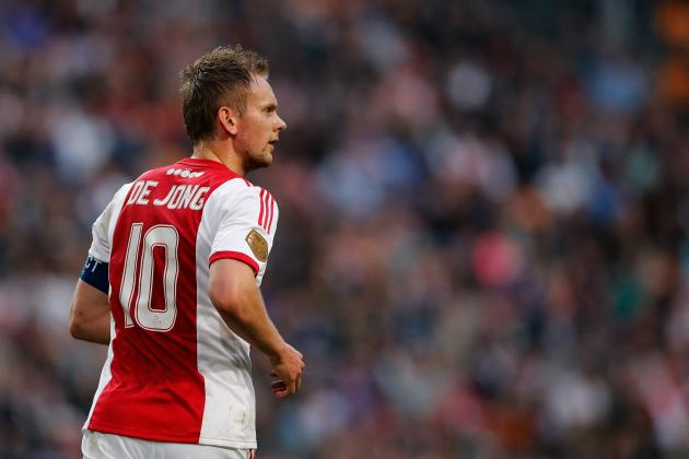 Ajax Skipper Siem De Jong Missing for KNVB Semi