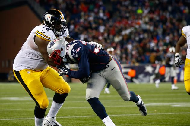 Steelers Annonce 1-Year Deal with Vet OL Whimper