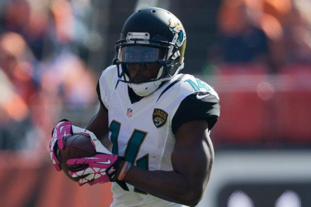 Jaguars WR Justin Blackmon Not Charged in Car Accident