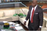 NFL Network Cameras Catch Terrell Davis' Reaction to Earthquake