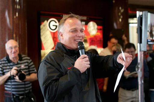 Georgia Football: Mark Richt's No. 1 Goal for Spring Practice