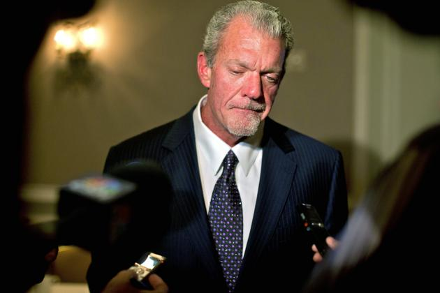 Goodell, Owners Must Act in Best Interest of Jim Irsay—and the NFL