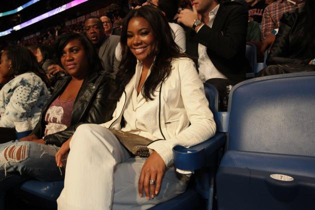 Gabrielle Union Is Pumped for Nebrasketball